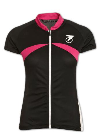 Astral Dame Jersey sort/hvid/pink | Jerseys