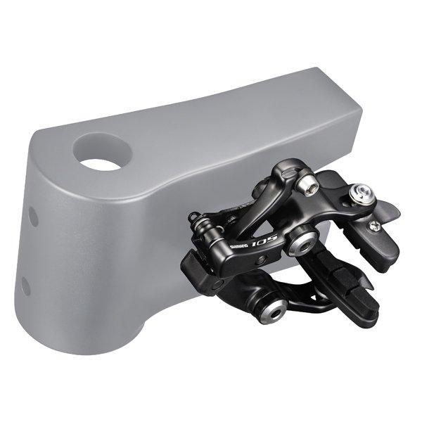 Shimano 105 bagbremse direkte montering sort | Brake calipers