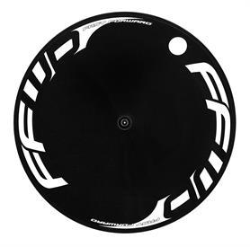 FFWD Aero Carbon pladehjul/baghjul sort/hvid | Racercykler