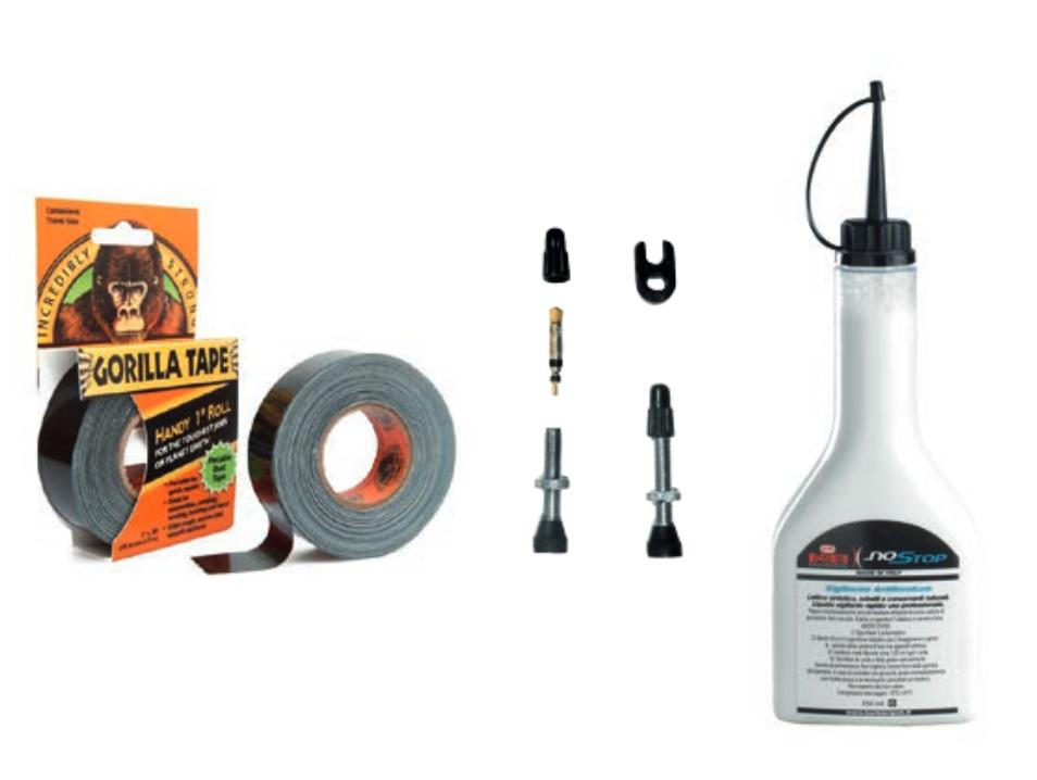 Barbieri tubeless kit | Lappegrej og dækjern