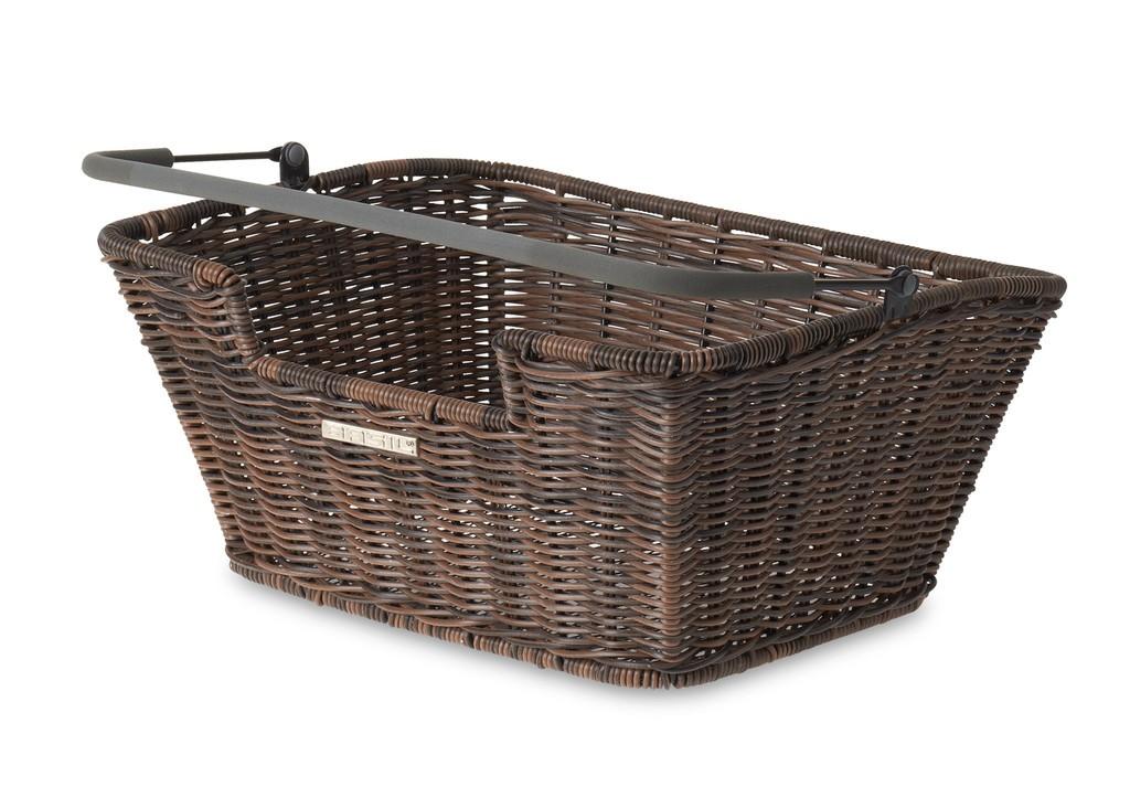 Basil Capri Flex Bagkurv Brun | Bike baskets