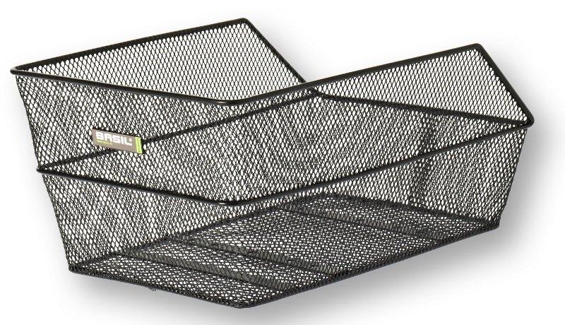 Basil kurv til bagagebærer CENTO 45x30x20 cm sort | Bike baskets