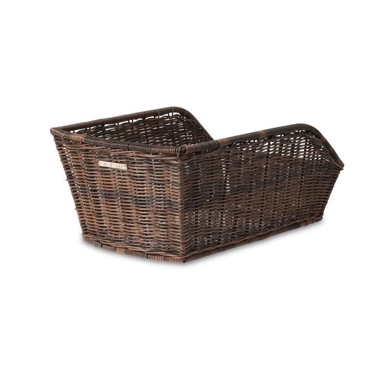 Basil Cento bagkurv brun flet | Bike baskets