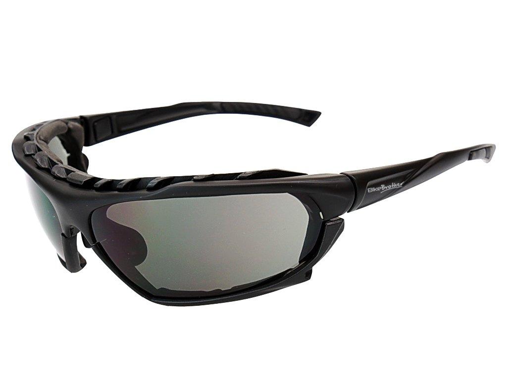 BikeBrother briller Sort