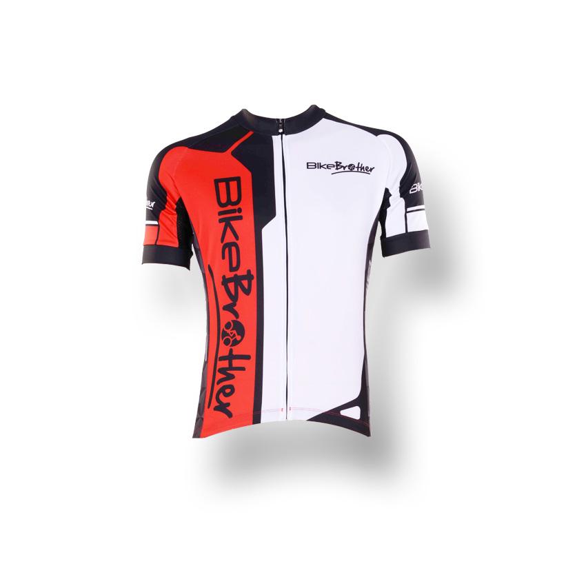 BikeBrother Streamer Rød/Sort | Trøjer