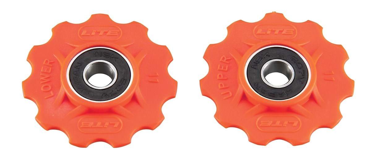Pulleyhjul lite Orange | Pulleyhjul