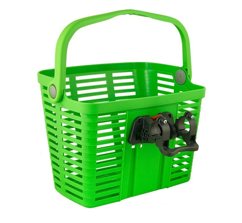 Forkurv Bellelli Plaza grøn | Bike baskets