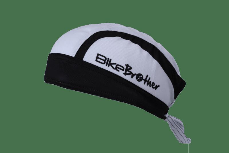 BikeBrother Team Bandana Hvid | Hovedbeklædning