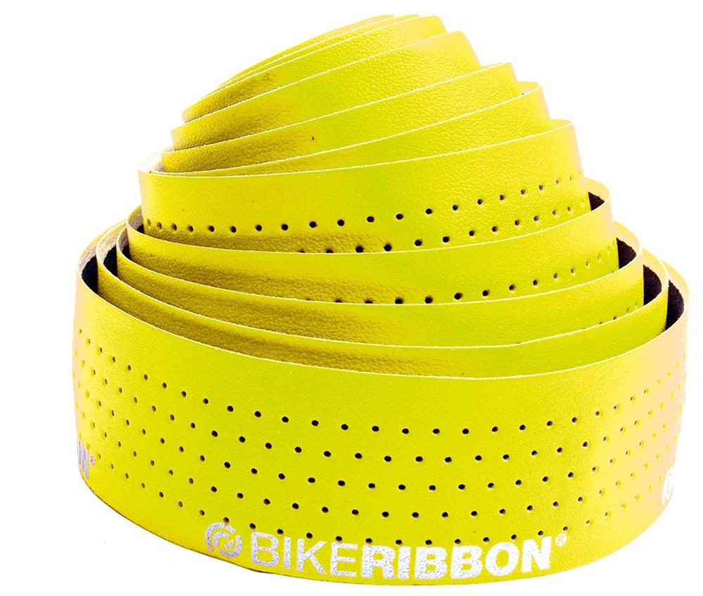 Bikeribbon Eolo soft fluo gul styrbånd | Bar tape