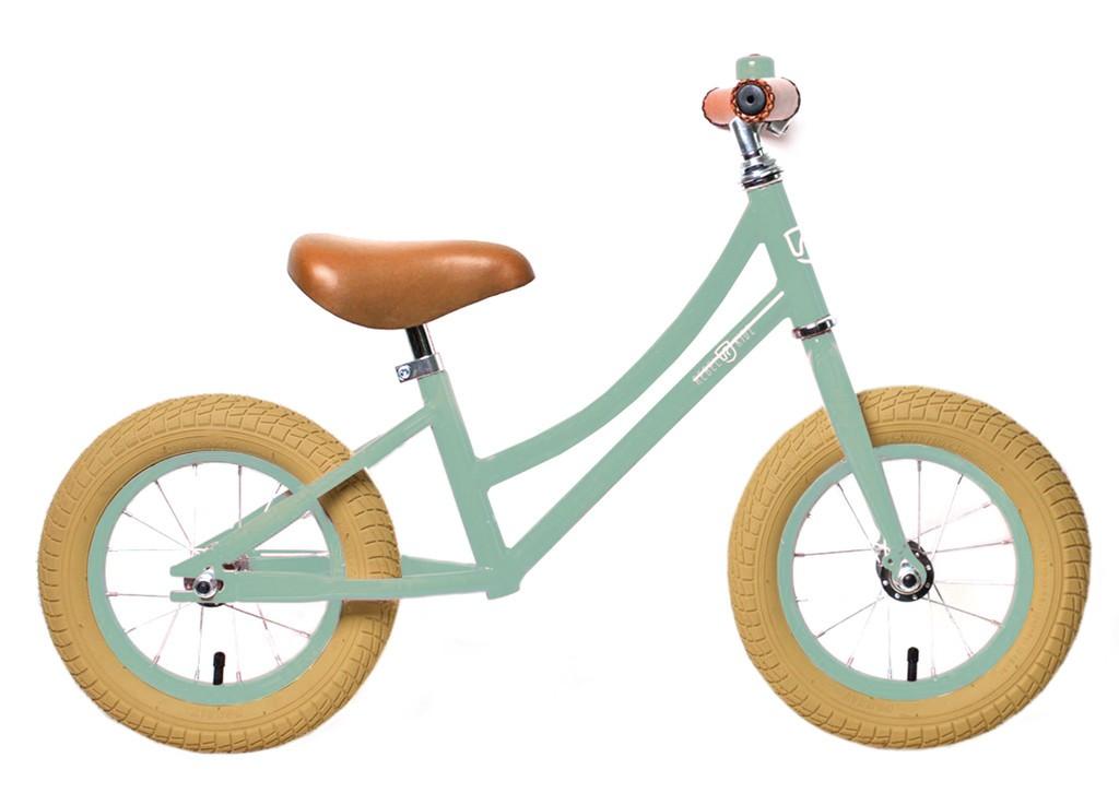 Rebel Kidz Air Classic løbecykel lys grøn / pastel grøn | Learner Bikes