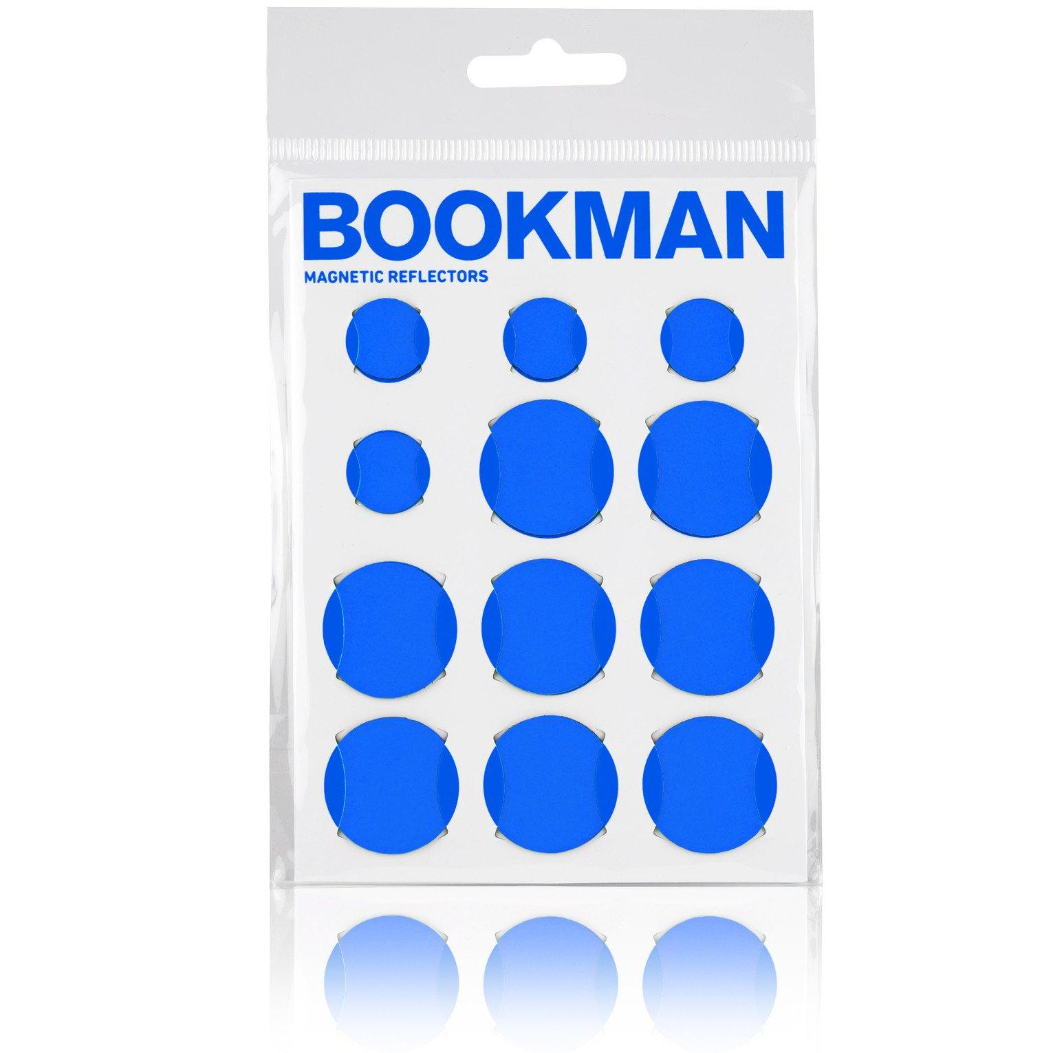 Bookman Magnetiske reflekser blå | Reflekser