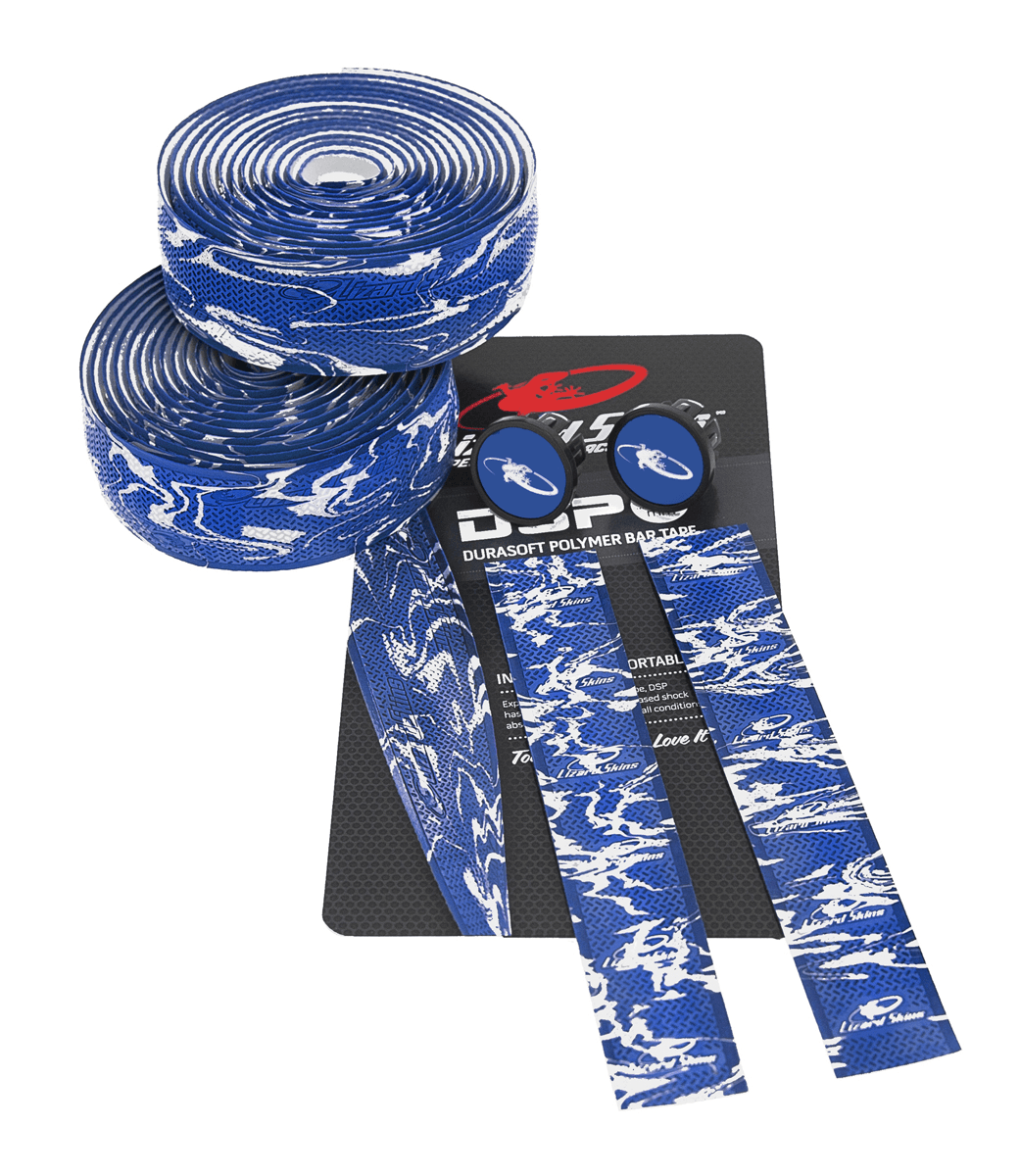 Lizard Skins styrbånd 2,55 mm Blue Camo | Bar tape