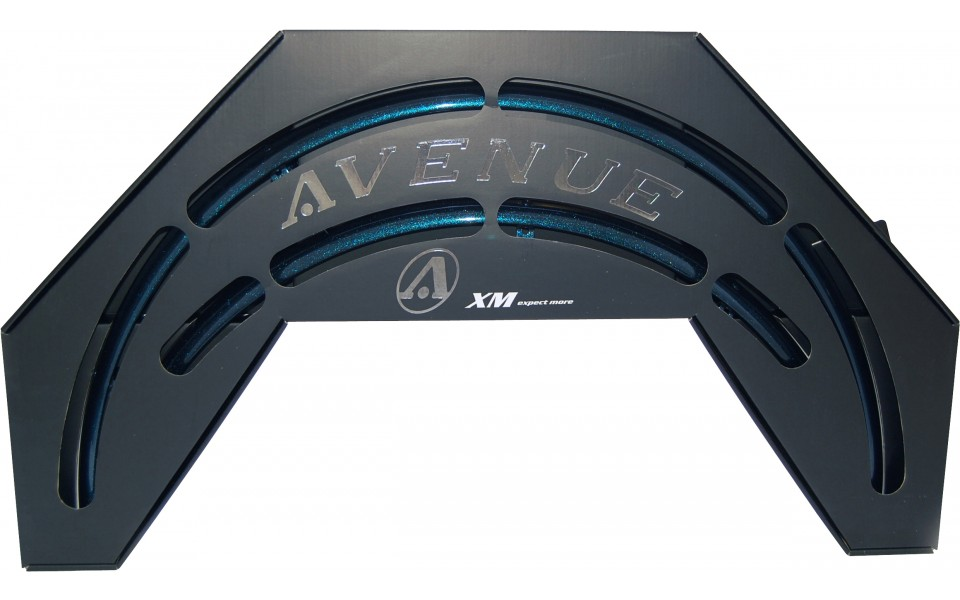 Avenue skærmsæt Blå (Ibiz Blue) 35 mm | Mudguards Set
