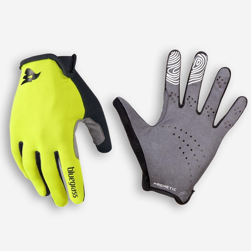 Bluegrass Magnete Lite gul/hvid cykelhandske - 225,00 | Gloves