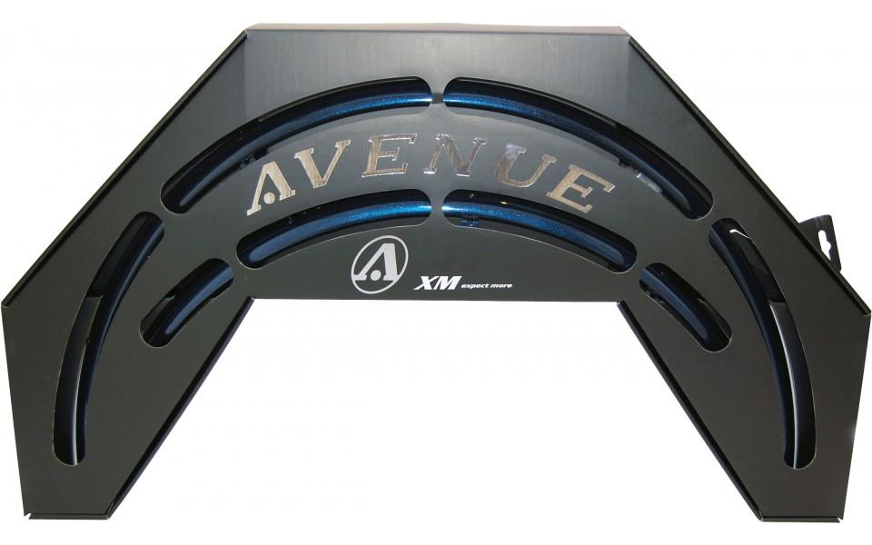Avenue skærmsæt Blå (Crystal Blue) Shiney 35 mm | Skærme
