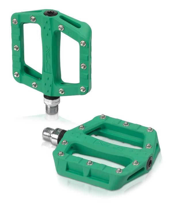 XLC BMX pedal flats Grøn 20 pins | Pedaler