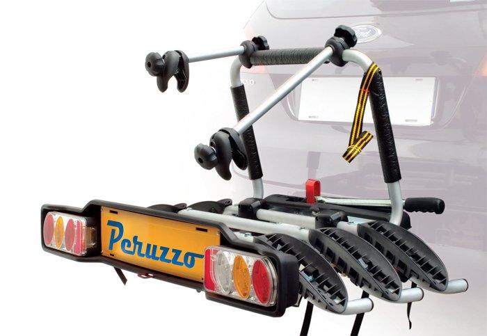 Peruzzo Cykelstativ til 3 cykler i alu | Car racks