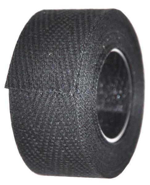 Sort styrbånd i bomuld | Bar tape