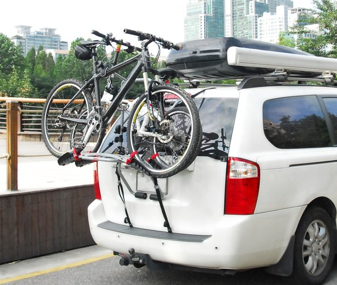 Folkekære Buzz Pilot cykelholder til biler uden træk - 1.149,00 : Cykelgear EV-54