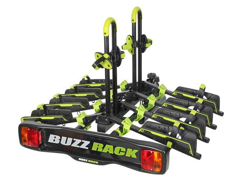 Buzzrack Wing stativ til 4 cykler | City
