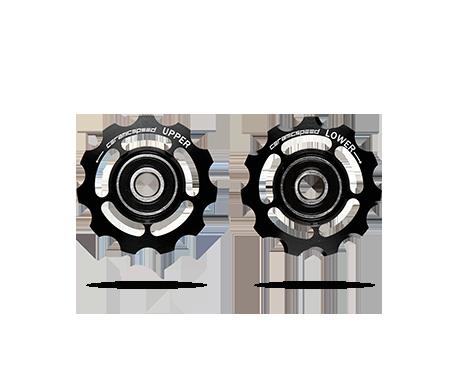 CeramicSpeed Keramiske Pulleyhjul Sort Campagnolo 11-Speed   Pulleyhjul