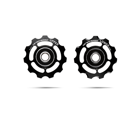 CeramicSpeed Keramiske Pulleyhjul Sort Shimano 11-speed   Pulleyhjul
