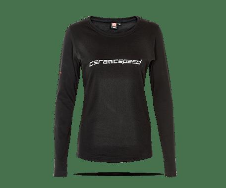 CeramicSpeed Langærmet T-Shirt Woman   Trøjer