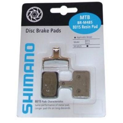 Shimano, bremsklodser disk DEORE, resin pad B01-S | Bremseskiver og -klodser