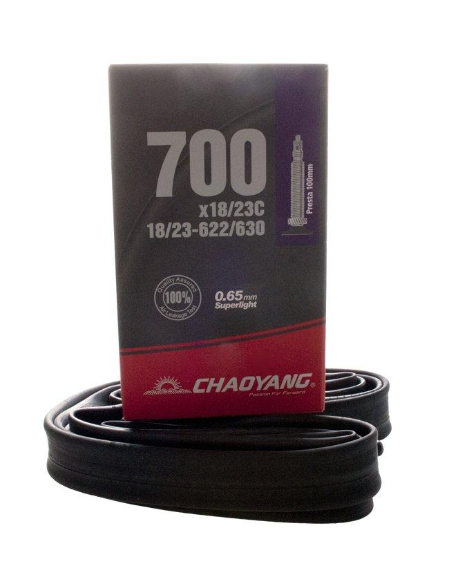 Chaoyang slange 700x18/23c 100mm FV | Tubes