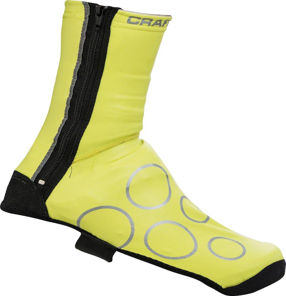 Craft Rain Bootie skoovertræk gul/sort - 169,00 | shoecovers_clothes