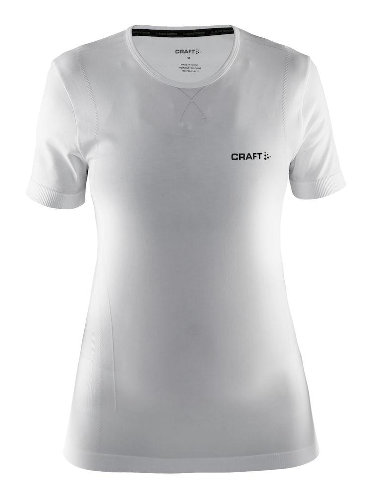 Craft Be Active comfort women kort ærmet Hvid | Base layers
