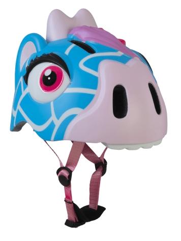 Crazy safety blå giraf børnehjelm 49-55 cm   Hjelme