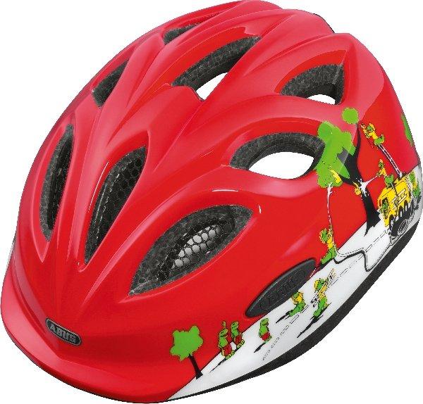 Abus Smiley Croco Fire cykelhjelm   Hjelme
