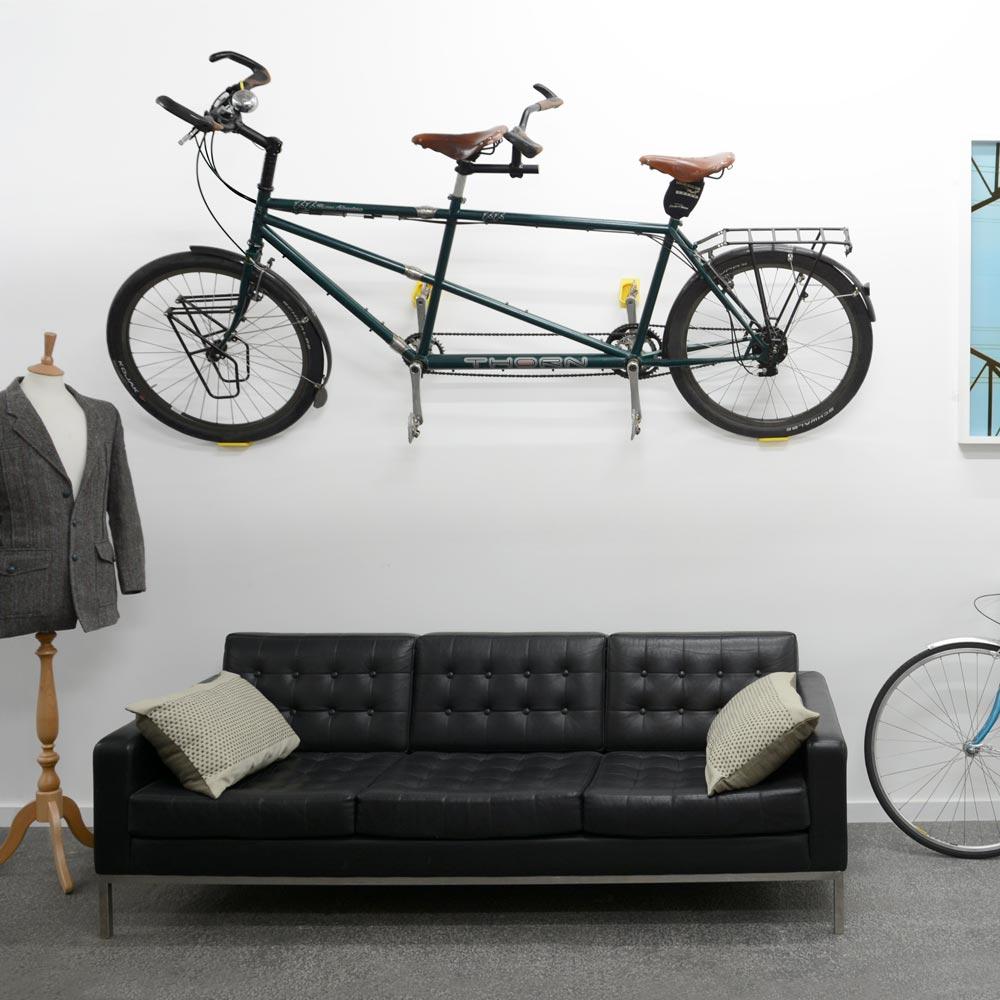 Cycloc Hero vægophæng hvid - 415,00 : Cykelgear.dk - Cykelgear.dk