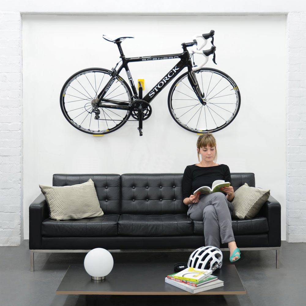 Cycloc Hero vægophæng sort - 415,00 : Cykelgear.dk - Cykelgear.dk