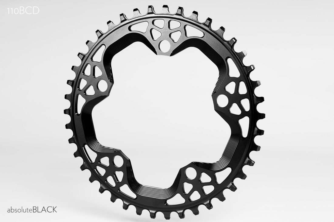 Absolute Black klinge 42T BCD110 Cross | chainrings_component
