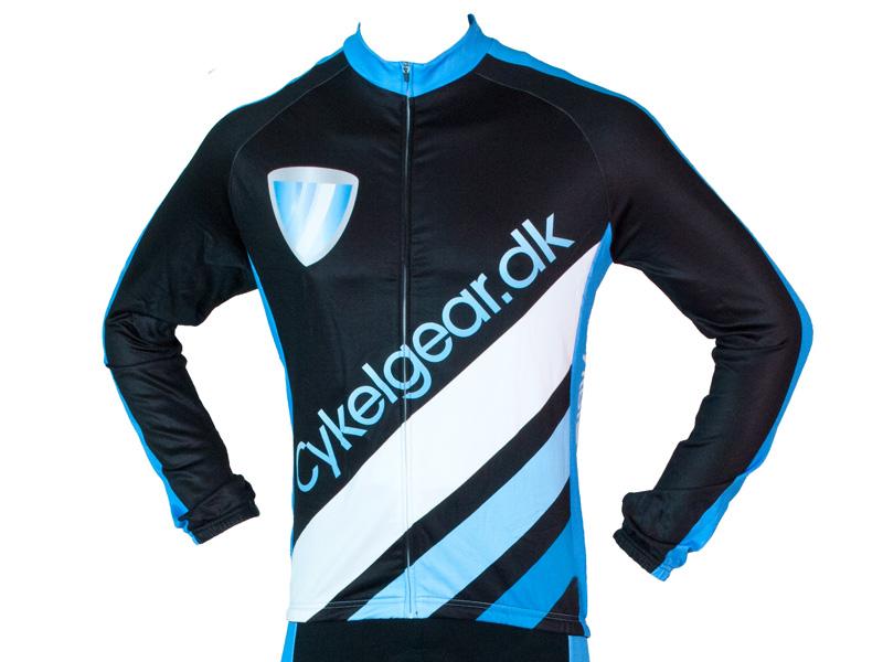 Cykelgear.dk Team trøje med lange ærmer | Jerseys