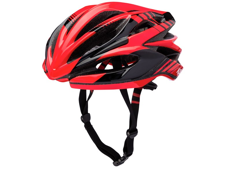 KALI Loka Cykelhjelm Rød/Sort | Helmets
