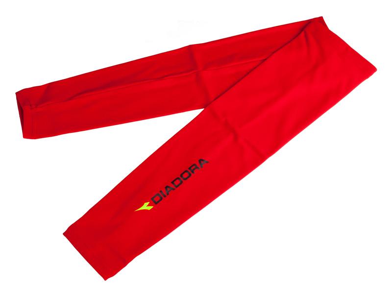 Diadora løse ærmer rød | Arm- og benvarmere