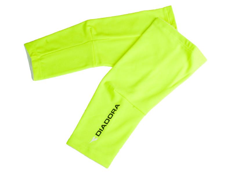 Diadora knævarmer neon | Arm- og benvarmere