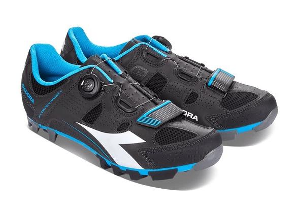 Diadora X-Vortex-racer II sort / blå | Sko