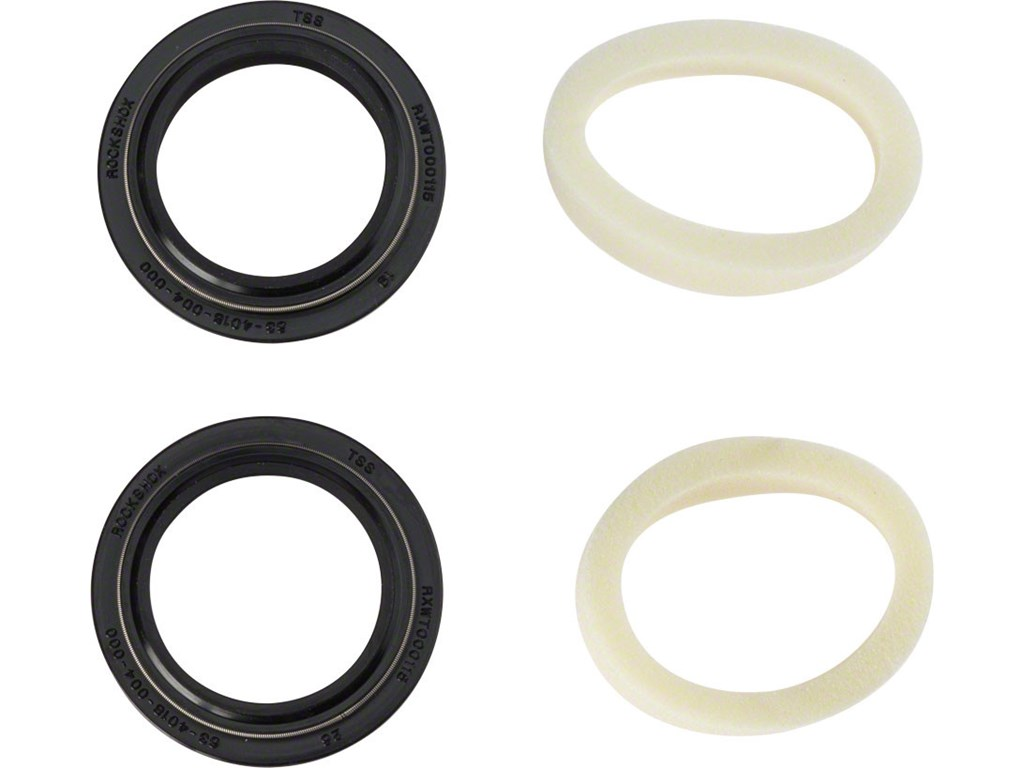 Rock Shox støvhætter 32 mm sort 10 mm ringe   Gafler