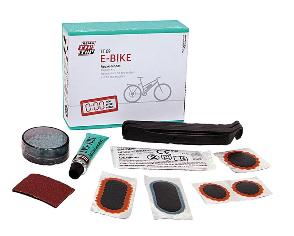 Rema Tip Top lappegjessæt til el-cykler   Repair Kit