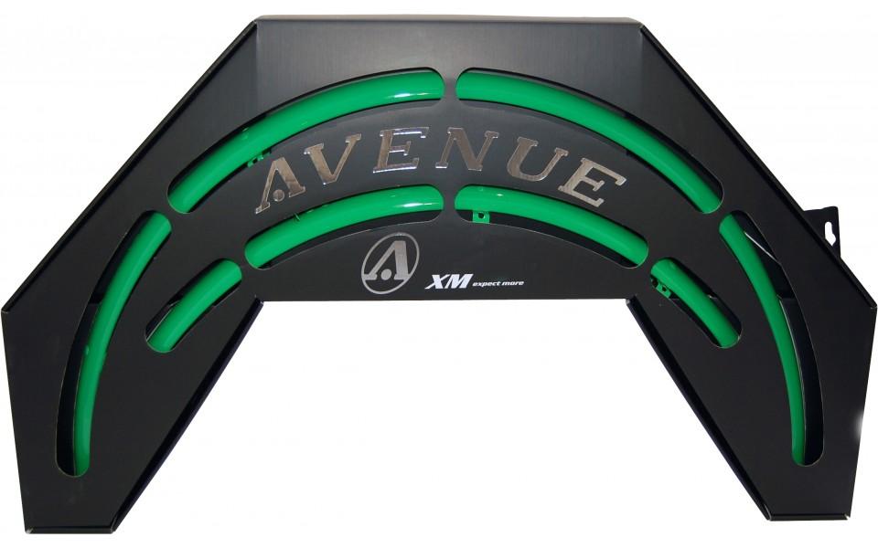 Avenue skærmsæt grøn (FlashGreen Shiny) 35 mm | Mudguards Set