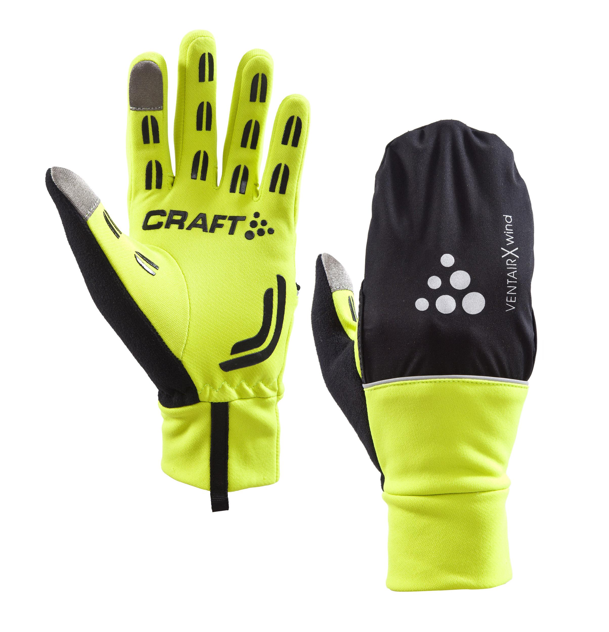Craft Hybrid Weather Glove fluo | Handsker