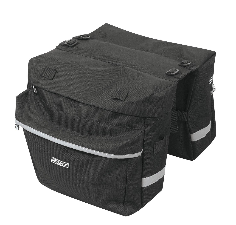 Force cykeltaske til bagagebærer 2x10 liter   item_misc