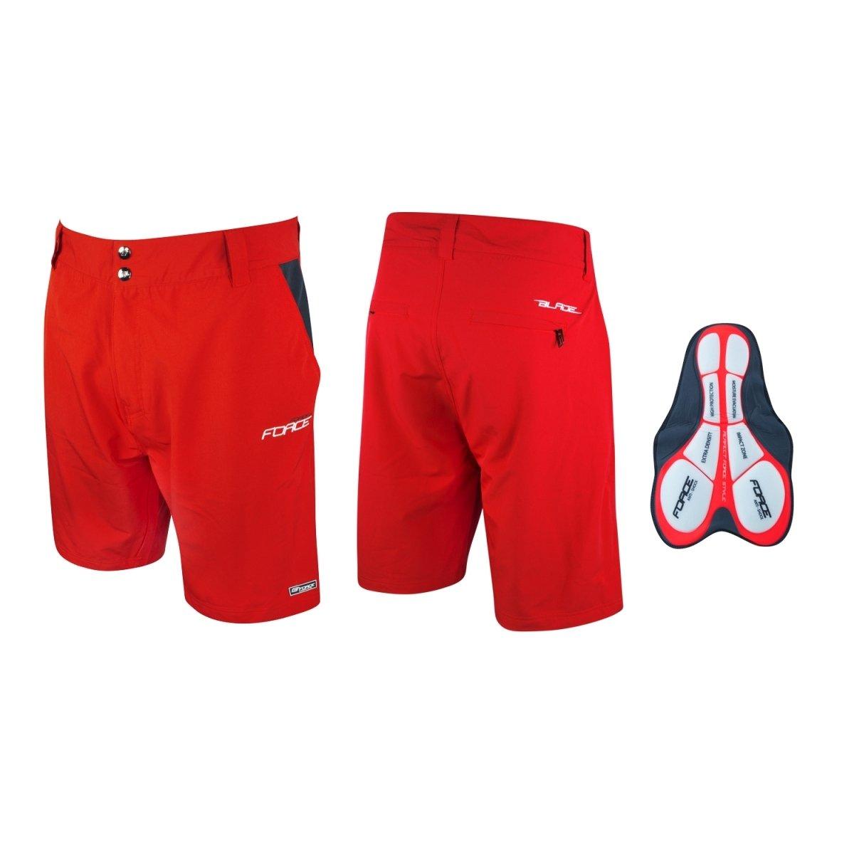 Force Blade MTB shorts rød | Bukser