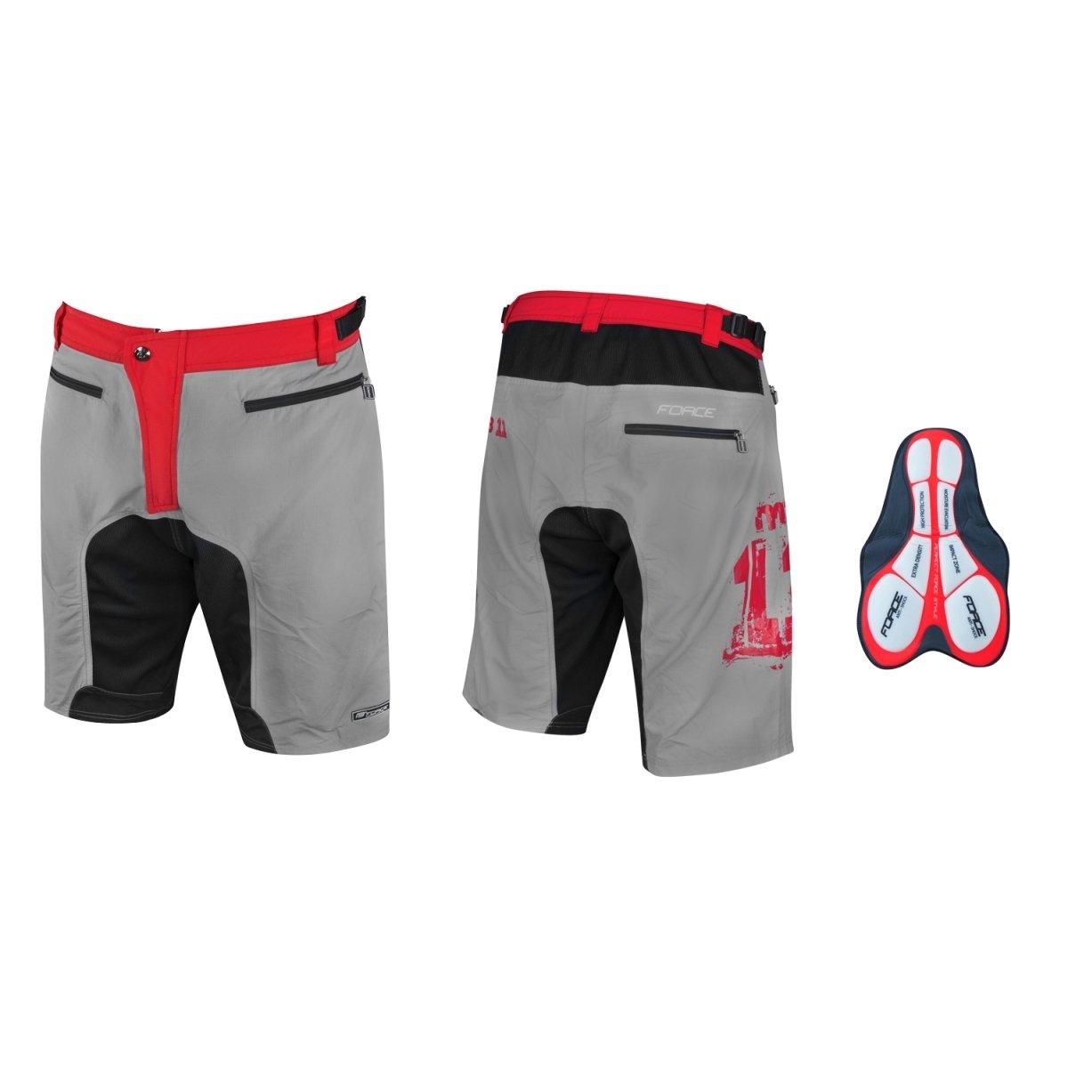 Force F-11 MTB shorts med gelindlæg | Trousers