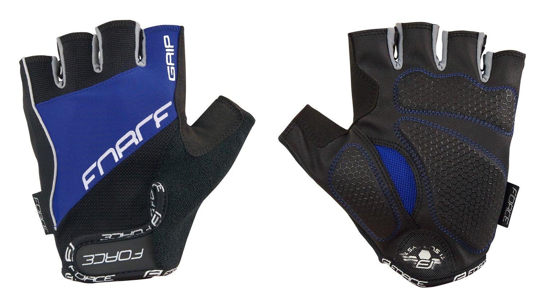 Force Grip handske Unisex Gel sort/blå | Handsker