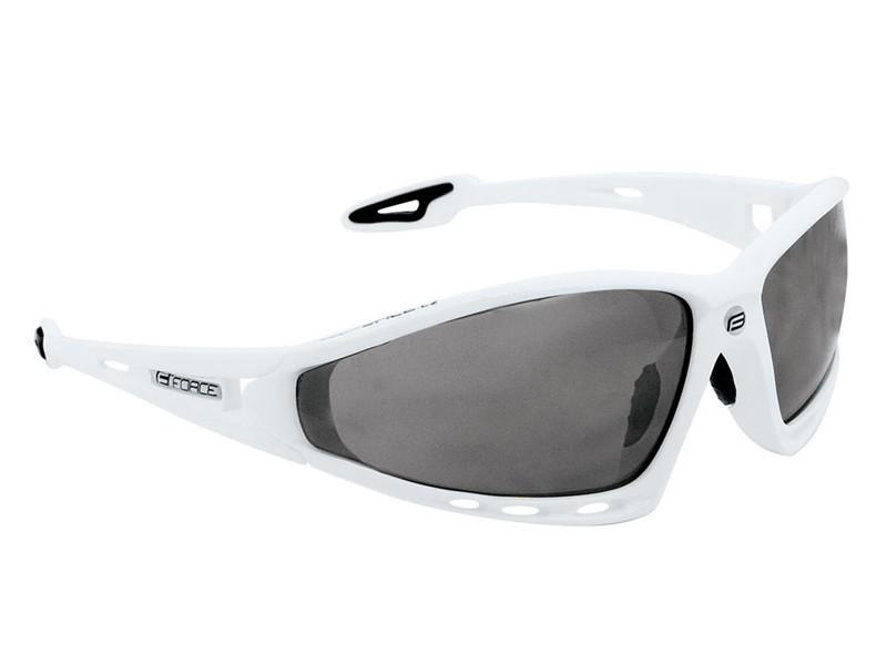 Force F.Pro solbrille hvid